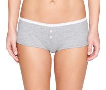 Panty grau / weiß