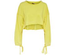 Sweatshirt neongelb