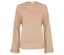 Pullover 'funnel Neck' nude