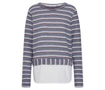 Shirt creme / blau / grau