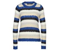 Pullover beige / nachtblau