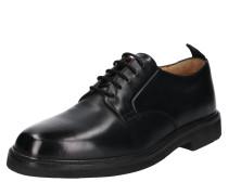 Halbschuhe 'Sennen leather' schwarz