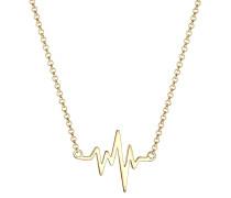Halskette 'Herzschlag' gold