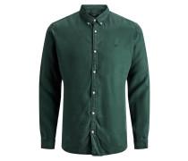 Hemd 'Pelle overdye' smaragd