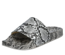 Slipper '69653' schwarz / grau