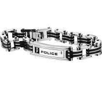 Armband 'Carb' schwarz / silber