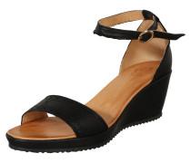 Keil-Sandalette 'Menina' schwarz