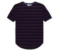 T-Shirt 'Essentials' nachtblau / pink
