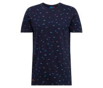 T-Shirt 'Taylor' mischfarben / dunkelblau