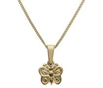 Kettenanhänger 'Schmetterling' gold