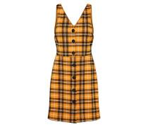 Kleid 'mustard Check Poppy Pinny'