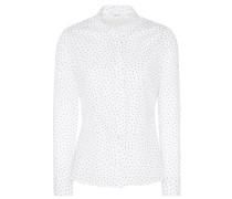 Bluse marine / weiß