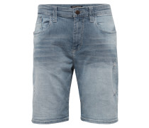 Jeans Shorts 'brian' blue denim