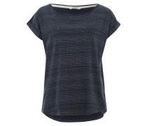 Shirt 'Holly' nachtblau / weiß