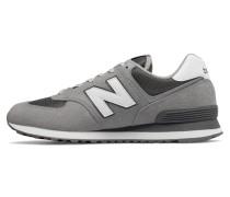 Sneaker 'ml574 D' grau / weiß