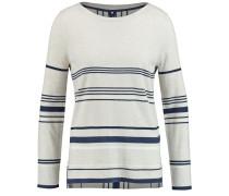 Pullover beige / marine