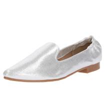Slipper Spitz im Silber-Look silber