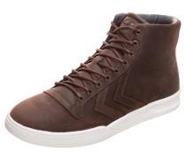 Sneaker 'Stadil' braun / weiß