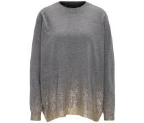 Pullover gold / graumeliert