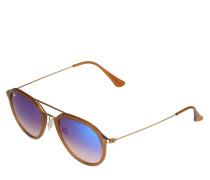 Sonnenbrille '0Rb4253' blau / hellbraun