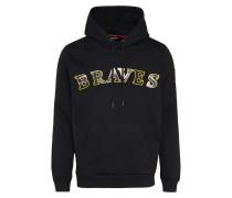 Sweatshirt 's-Braves' gelb / schwarz