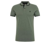 Poloshirt 'shhnewseason SS' grün