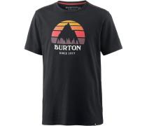 'underhill' T-Shirt schwarz