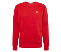 Sweater 'Small Logo' rot