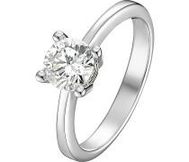 Ring '60019622' silber / weiß