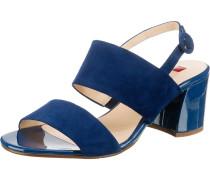 Klassische Sandaletten blau / creme / marine