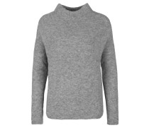 Pullover 'turtleneck Crop' dunkelgrau