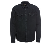Hemd 'western' schwarz