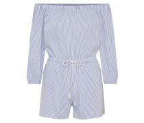 Jumpsuits 'Melva' blau / weiß
