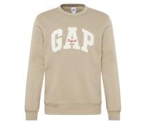 Sweatshirt ' Original Arch Crew' beige