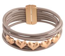 Armband 'Yara' gold / taupe