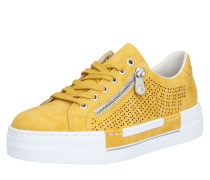 Sneaker weiß / gelb