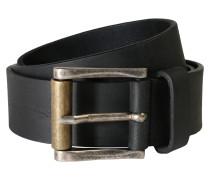 Gürtel aus Leder schwarz