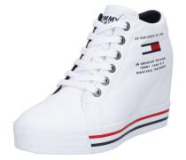 Sneaker 'nice Wedge 1D' weiß
