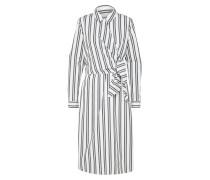 Kleid 'sfevelyn' schwarz / weiß