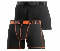 Boxer 'Active' oliv / orange / schwarz