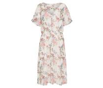Kleid 'Roser' mischfarben / weiß