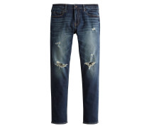 Jeans 'bts19-Skny Dark Knee' blue denim