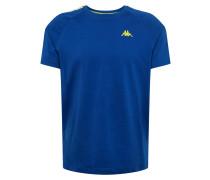 Shirt 'ernesto' royalblau / gelb