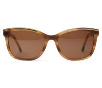 Sonnenbrille braun / hellbraun / gold