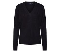 Pullover 'Vee Knit' schwarz