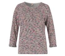 3/4-Arm-Shirt rosa / pinkmeliert