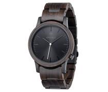 Uhr 'Walter' dunkelbraun / schwarz
