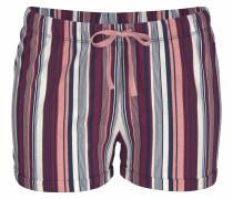Shorts beere / rosa / weiß