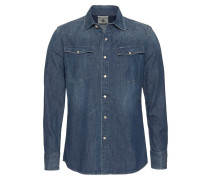 Hemd blue denim