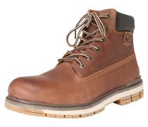 Boots beige / braun / schwarz